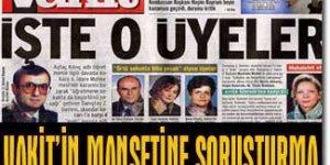 Vakit Gazetesinin Alevi Tahammülsüzlüğü Devam Ediyor