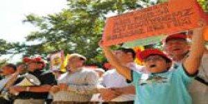 """Ankara'da """"zorunlu işkence"""" protestosu..."""