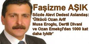 ''Ozan Arif... Musa Eroğlu, Derli Divani ve Ozan Emekçi'den 1000 kat iyidir''