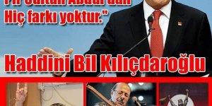 CHP ALEVİLERE FAŞİSTLERİ DAYATAMAZ.!