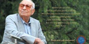 Yaşar Kemal'i saygıyla anıyoruz!