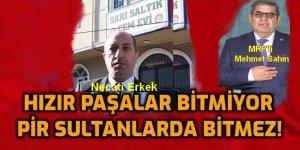 Sancaktepe Sarı Saltık 'Cemevi' yöneticisinden AKP yalakalığı
