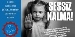 İstanbul Küçükçekmece'de yaşanan istismar olayına karşı ses oluyoruz!