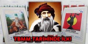 PTT, TBMM tarihinde İlk kez Alevi Pirlerin resmini bastı!
