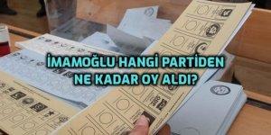 Istanbul'da İmamoğlu hangi partilerden ne kadar oy aldı?