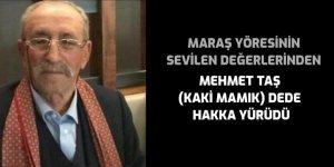 Mehmet Taş (Kaki Mamık) dede hakka yürüdü