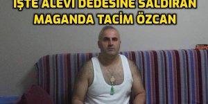 Tacim Özcan isimli şiacı faşistten Alevi Dedesine fiziki saldırı