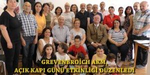 """ALEVİLER, GREVENBROİCH'DA """"AÇIK KAPI GÜNÜ"""" ETKİNLİĞİ DÜZENLEDİ"""