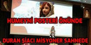 İran rol-modeli Şiacı Leyla A. 'kutsal' görevine devam ediyor
