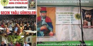 Kızıl Deli  Anma Etkinlikleri Yunanistan'da çoşkuyla devam ediyor