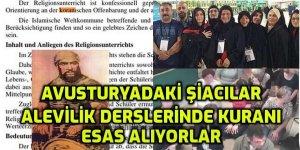 """İRAN BAĞLANTILI ALEVİLERİN ESERİ: Avusturyada sözde """"Alevilik"""" dersleri Kuranı esas alıyor!"""