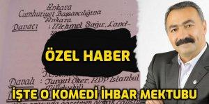 İşte Turgut Öker'i yargılatan ve Avrupadaki tüm Alevi Kültür Merkezlerini hedef gösteren o ihbar mektubu