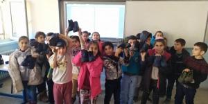 Avrupa'daki Aleviler 700 çocuğa ayakkabı ve mont yardımı yaptı