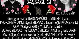 Ölümün yakışmadığı bedenler: Rojda Geyik (Ludwigsburg) ve Burak Yılmaz (Pforzheim)