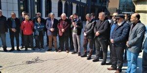 Milli takıma alınmayan Alevi sporcu, Garip Dede Dergahı'nda açıklama yaptı
