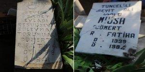 Aydın'da Dersimli Alevilerin mezarları tahrip edildi