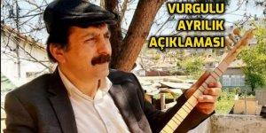 Dede Tahir Aslandaş Ocakzadeler Meclisinden ayrıldığını duyurdu