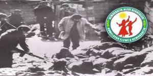 Çorum Katliamı'nın 40'ıncı yılı; DAD Ankara Şube'den açıklama