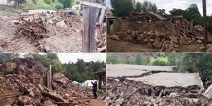 Alevi köylerine çamur nedeniyle ulaşılamıyor