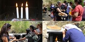 Dersim'de Alevi kadınlar, Sivas'ta katledilenler için çerağ uyandırdı
