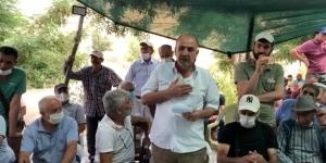 PSAKD Yol Erkan Kurulu üyeleri Hasan Doğan ve Efe Engin'den heykel açıklaması