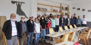 Sivas'ın Zara ilçesinde bir Alevi köyüne kütüphane açıldı