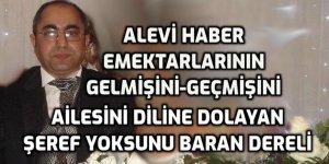 Baran Dereli'den Alevi Haber emektarlarına hakaret ve gözdağı