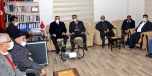 AKD Sırrın Cemevine, Büyükşehir Belediye Başkanından ziyaret