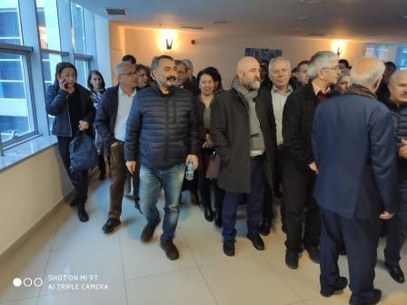 AABK Onursal Başkanı Turgut Öker'in karar duruşması başladı