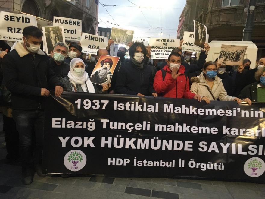 HDP İstanbul İl Örgütü: Baş eğmeyen direnişleri mirasımızdır