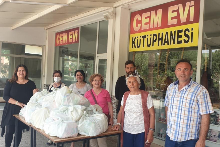 Didim Cemevinin yardım kampanyasına duyarlılık artıyor