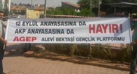 AGEP : 12 EYLÜL ANAYASASINA DA AKP ANAYASASINA DA HAYIR!