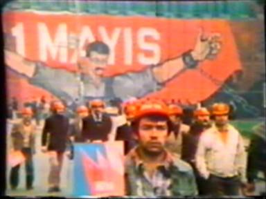 İlk 1 Mayıs gösterisi işgal güçlerine rağmen yapıldı