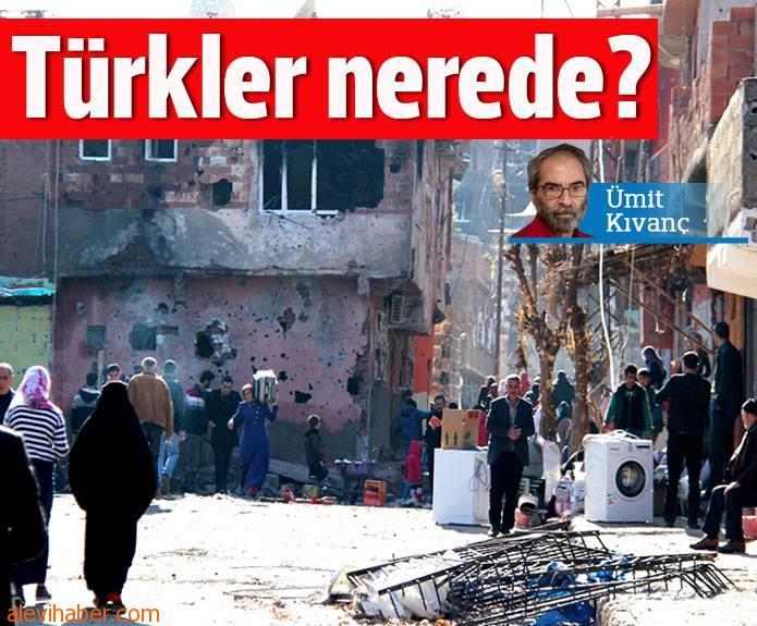 Türkler nerede?