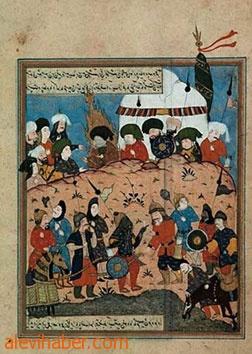 (Kerbela Olayı'nı konu alan bir Osmanlı minyatürü)