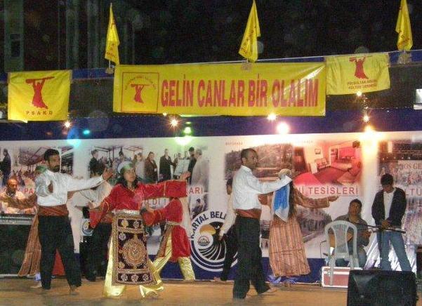 1.Pir Sultan'a Saygı Festivali Muhteşem bir katılımla sona erdi.