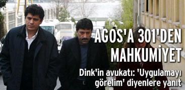 Agos'a 301'den mahkumiyet