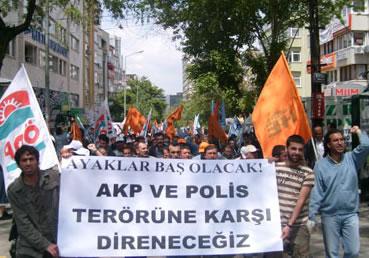Emekçi düşmanı AKP