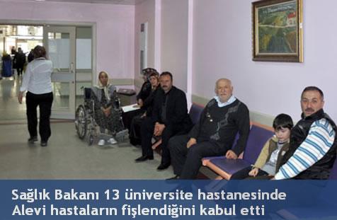 13 üniversite hastanesinde Alevi hastalar fişlenmiş