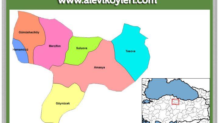Amasya Gümüşhacıköy Alevi Köyleri