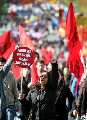 Ankara'da Özgürlük mitingi