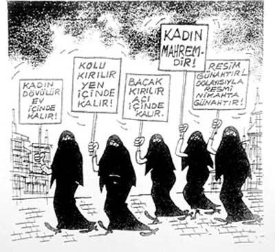 Şeriata doğru adım adım : Kız-erkek başka okullara