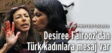 Protestocu Desiree NTVMSNBC'ye konuştu