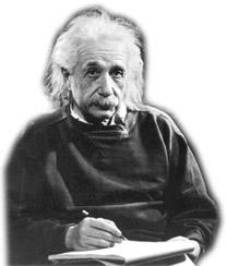 Einstein: Din çocukça bir şey...