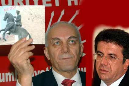 """AKP ve CHP arasında şimdi de """"at penisi"""" tartışması"""