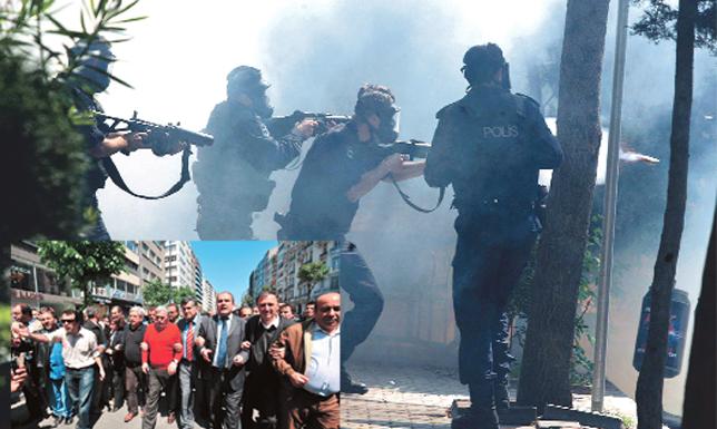 Ahmet İNSEL : Ceberrut devlet çalışıyor