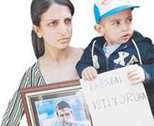 Hatay'da idama karşı eylem