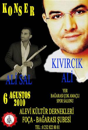 Foça'lı Aleviler Kıvırcık Ali Konserinde Buluşacak