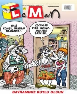 Leman'dan Mahalle Baskısı Kapağı