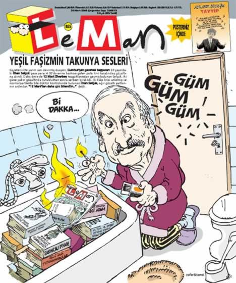 Ergenekon baskınına Leman yorumu